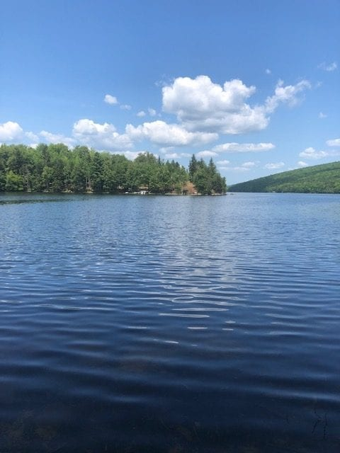 Appalachian trail lake